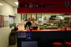 Aurelie et Elisabeth gérante pizzeria Casa Aurelisa Obernai